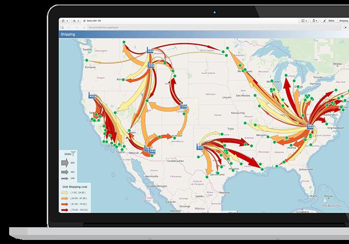 Articque MAP: location analytics in QlikView and Qlik Sense