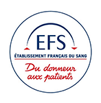 French Blood Establishment's logo
