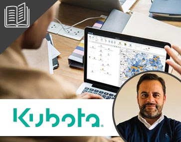 Kubota analyzes market penetration with location intelligence